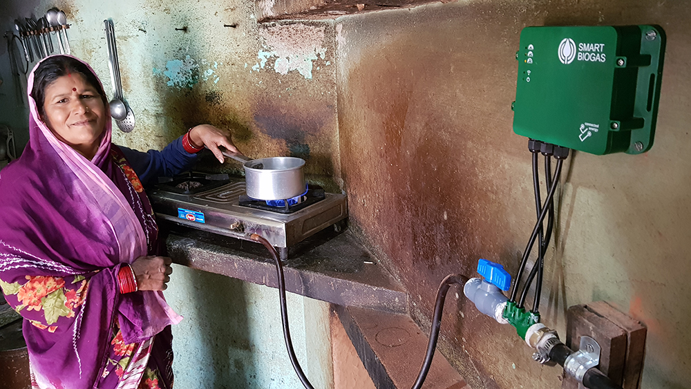 A Connected Energy installation in Uttarakhand, India. Credit: Connected Energy Technologies
